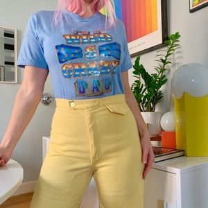 Vintage 70s iron on T-shirt I'm a wild & crazy dad